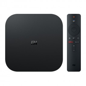 Xiaomi Mi Box S 4K Ultra HD Android TV with Google Voice Assistant & Direct Netflix Remote Streaming Media Player US Plug
