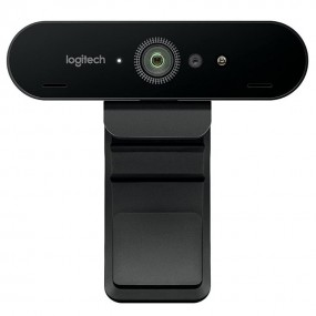 Logitech BRIO 4K Ultra HD Webcam for Video Conferencing, Recording, and Streaming - Black